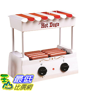 [106 美國直購] Nostalgia HDR565 復古懷舊 熱狗機 麵包機 Vintage Collection Hot Dog Roller with Bun Warmer