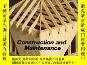 二手書博民逛書店Woodframe罕見Houses: Construction