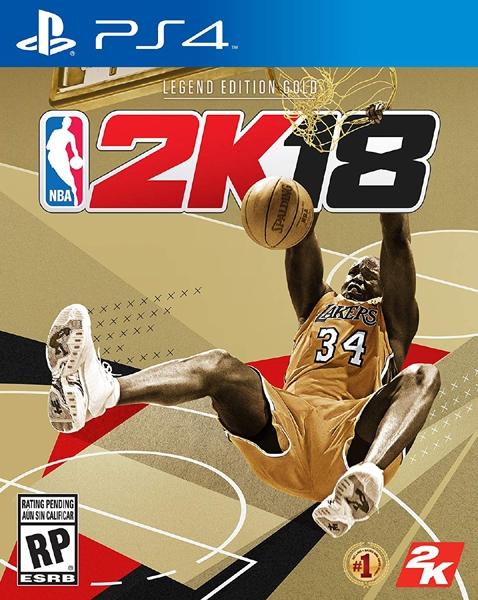 PS4 NBA 2K18 傳奇黃金版(美版代購)