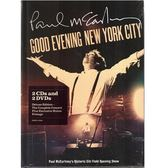保羅麥卡尼 晚安紐約跨時代演唱會影音傳真 雙CD附雙DVD 紀念盤 (音樂影片購)