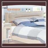 【多瓦娜】維爾拉5尺床頭(附插座) 21152-309001
