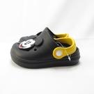 DISNEY 迪士尼正版 米奇 中童 園丁鞋 洞洞鞋 布希鞋 防水 120178BLK 黑【iSport愛運動】