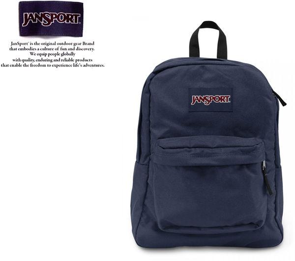 【橘子包包館】JANSPORT 後背包 SUPER BREAK JS-43501 深藍