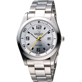 Valentino 范倫鐵諾 輝煌年代經典腕錶 SM6405S銀數
