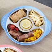 onlycook 304不銹鋼寶寶分格餐盤兒童餐具分格碗餐盤子嬰兒分菜盤-Ifashion