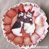 狗窩小型犬冬季保暖四季通用網紅貓窩睡袋狗狗公主床可愛寵物貓床  居家物語