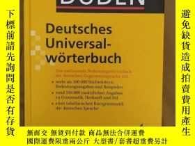 二手書博民逛書店杜登德德大词典罕見Duden Deutsches UniversalwörterbuchY276203 Dud