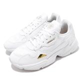 adidas 休閒鞋 Falcon W 白 金 老爹鞋 女鞋 小白鞋 【ACS】 EG5161