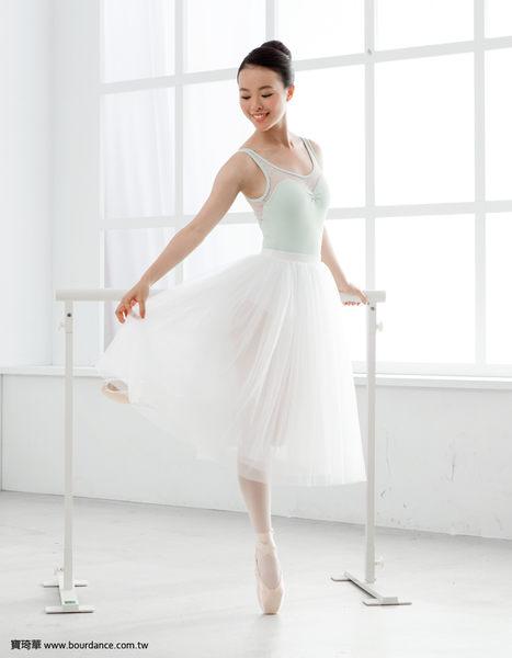 *╮寶琦華Bourdance╭*專業芭蕾舞衣☆成人芭蕾★細網圓點背心舞衣(內有裡襯可放罩杯)【BDW16F14】