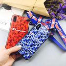 【紅荳屋】iPhoneX 潮款潮牌迷彩手機殼 新款iphoneX手機保護套
