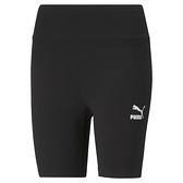 PUMA 女款黑色流行系列 Classics7吋緊身短褲 53023401