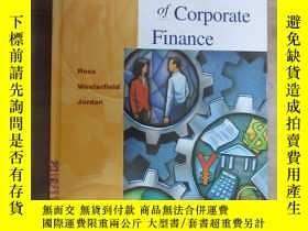 二手書博民逛書店英文書罕見Essentials of Corporate Fin