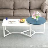 蔓斯菲爾茶幾簡約現代陽台小戶型茶桌茶台創意方形桌子時尚經濟型 印象家品