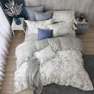 鴻宇 雙人加大床包兩用被套組 天絲300織 米堤 台灣製 T20109