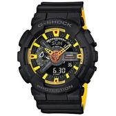 【東洋商行】免運 CASIO 卡西歐 G-SHOCK 超重型戰機雙顯運動錶(限量) GA-110BY-1ADR 手錶 電子錶 腕錶