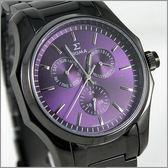 【萬年鐘錶】SIGMA日系 三眼時尚錶 1018MB5