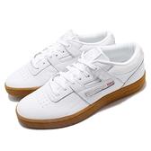 Reebok 休閒鞋 Club Workout MU 白 灰 膠底設計 網球鞋 皮革鞋面 男鞋 運動鞋【ACS】 CN5076