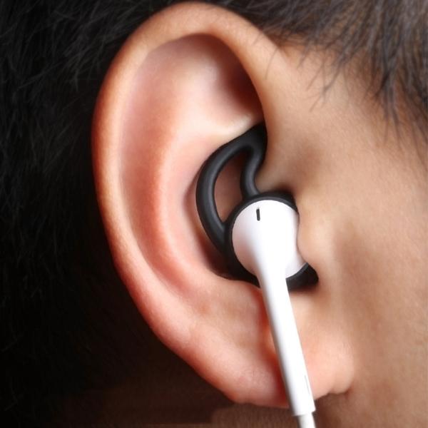 Apple iPhone原廠耳機套/矽膠套/保護套 鯊魚鰭設計 EarPods AirPods適用