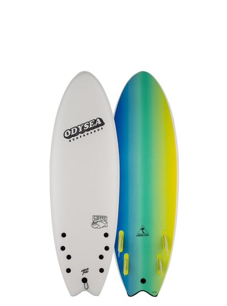 "Catch Surf - 56"" Odysea Skipper Quad - 四鰭軟式衝浪板56吋(絕版款)"