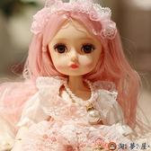 芭比洋娃娃玩具套裝仿真換裝娃娃公主兒童【淘夢屋】
