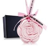 O'Pretty 歐沛媞 室內/車用 香氛擴香石掛飾-粉色玫瑰