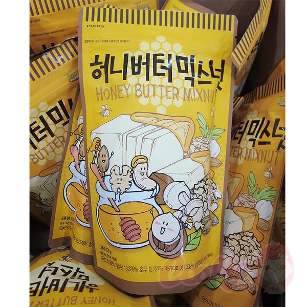 韓國 Toms Gilim 蜂蜜奶油綜合堅果 220g 杏仁果 堅果 核桃 腰果 進口零食【庫奇小舖】