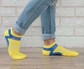 (男襪) 抗菌襪 除臭襪 吸濕排汗除臭襪 抗菌除臭襪 抗菌機能襪 抗菌船型/短襪 - 黃色【W088-07】Nacaco