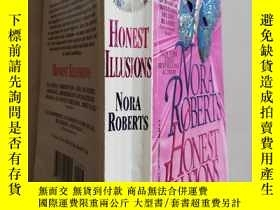 二手書博民逛書店Nora罕見Roberts honest illusionsY8