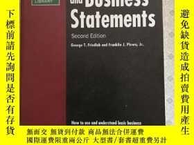 二手書博民逛書店Financial罕見and Business Statemen