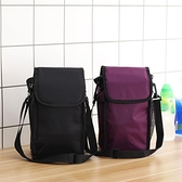 加厚保溫袋便當包防水飯盒袋子保溫桶保冷袋小拎包帶飯手提背帶包 韓美e站
