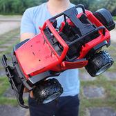 遙控車 超大越野車充電可開門悍馬遙控汽車兒童玩具男孩玩具賽車模型