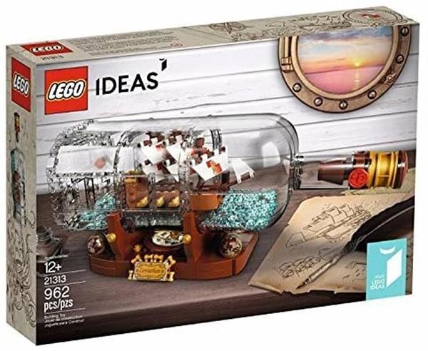 LEGO (LEGO) Idea Bottle Ship Ship in a Bottle 21313 [平行進口貨物]