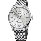 ORIS 豪利時 Artix 指針式星期機械錶-銀/42mm 0175576914051-0782180