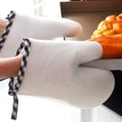 防燙手套 硅膠隔熱防滑手套 微波爐烤箱專用工具 廚房烘培耐高溫防燙單只入 解憂