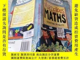 二手書博民逛書店Murderous罕見Maths殺氣騰騰的數學Y200392