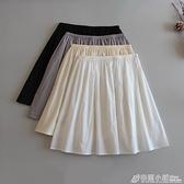 防靜電內襯裙純棉防透半身裙防走光內襯打底裙安全裙漢服襯裙內搭 秋季新品