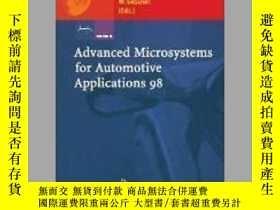 二手書博民逛書店Advanced罕見Microsystems for Automotive Applications 98Y4