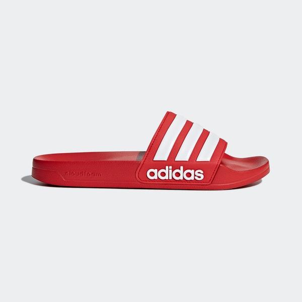 Adidas Adilette Shower [AQ1705] 男女鞋 運動 涼鞋 拖鞋 休閒 舒適 輕量 愛迪達 紅白