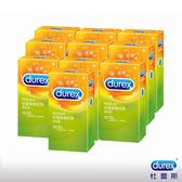 Durex 杜蕾斯螺紋裝衛生套/保險套12入*10盒