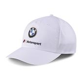 Puma BMW Logo 白色 運動帽 老帽 聯名款 遮陽帽 六分割帽 經典棒球帽 運動帽 02309102