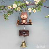 可愛日式風鈴畢業禮物生日飾品創意掛飾女生臥室陽臺鈴鐺門飾掛件YJ104