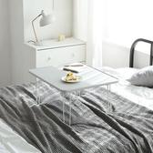 【MH 家居】韓國莫娜折疊桌-L款(小茶几/摺疊和室桌)白色