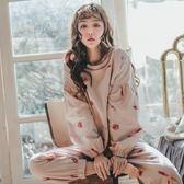 月子服   純棉產婦產后哺乳期喂奶薄款孕婦睡衣家居服套裝