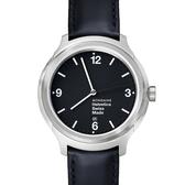4.3公分設計系列腕錶 - 黑面 Mondaine 瑞士國鐵錶
