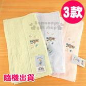 〔小禮堂〕彼得兔 長毛巾《3款隨機出貨.粉/綠/藍.花》34x75cm.100%棉4714578-22462