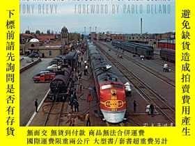 二手書博民逛書店The罕見Railroad Photography of Jack DelanoY360448 Tony Re