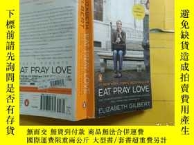 二手書博民逛書店Eat,罕見Pray, Love. Movie Tie-In:One Woman s Search for Eve