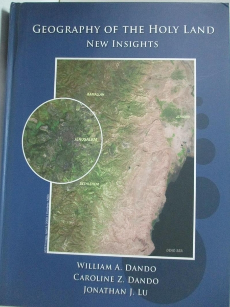 【書寶二手書T4/宗教_JAB】Geography of the Holy Land_William A. Dando, Caroline Z. Dando, Jonathan J. Lu