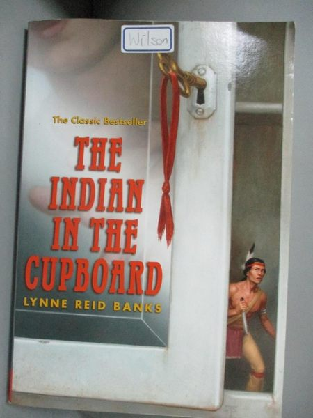 【書寶二手書T1/原文小說_OIP】The Indian in the Cupboard_Banks, Lynne