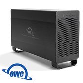 OWC Mercury Elite Pro Dual TB2+U3.1 雙介面,雙槽 2.5/3.5 吋 SATA 磁碟陣列外接碟盒 ( OWCTB2U3MED0GB )